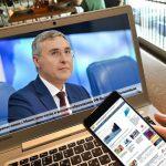 Прямая линия с министром науки и высшего образования РФ В. Н. Фальковым